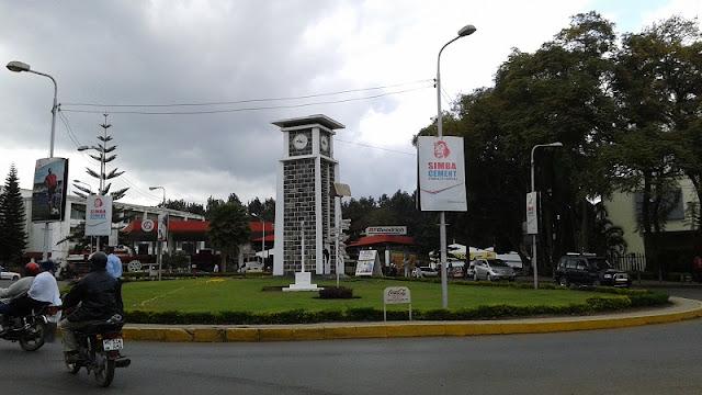 Arusha, rotonda del reloj