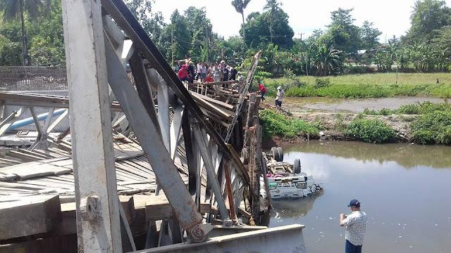 Terlalu Berat, Jembatan di Galesong Rubuh