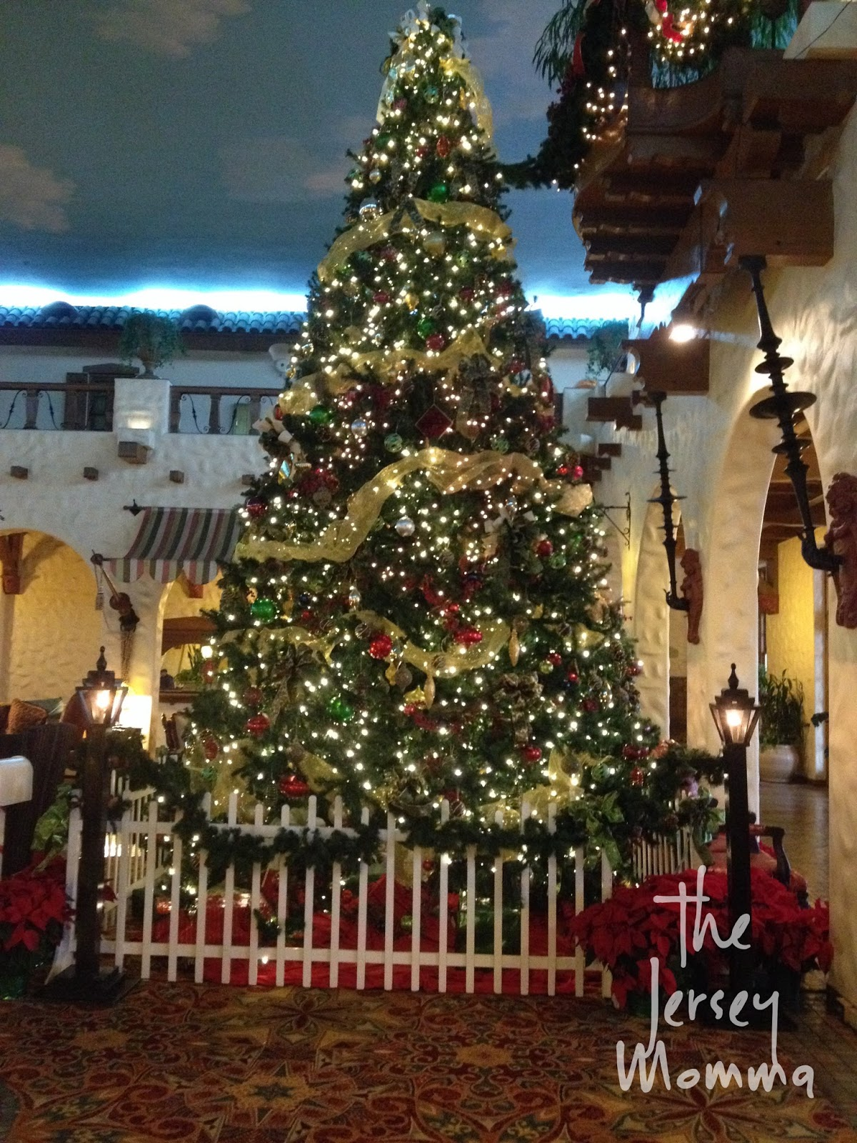 Beautiful Christmas Decorations At Christmas At The Hotel Hershey