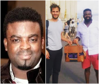 Kunle Afolayan Recovers Lost bag With His Laptop And Others in Paris