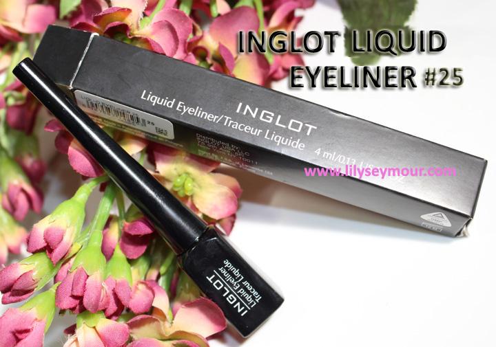 Inglot Liquid Eyeliner #25 Black