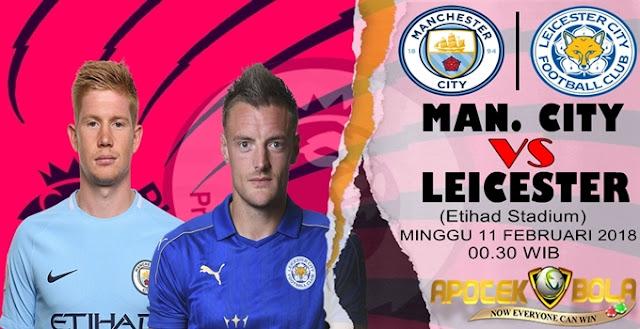 Prediksi Man City vs Leicester 11 Februari 2018