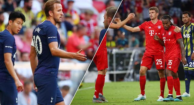 شاهد بث مباشر مباراة بايرن ميونخ وتوتنهام  بتاريخ 31-07-2019 كأس أودي