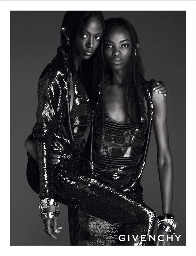 Givenchy Spring Summer 2014 campaign beautiful black models