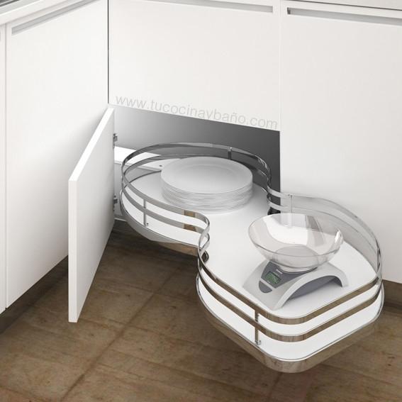 Herraje extraible mueble cocina guias tu cocina y ba o for Guias para baldas