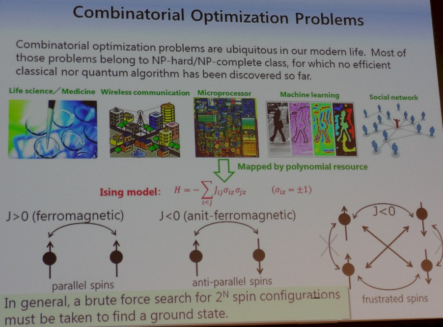 Currently Quantum computers might be where Rockets were at