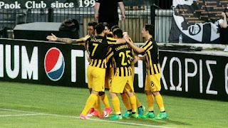Τα στιγμιότυπα του ματς ΠΑΟΚ - ΑΕΚ 1-1 στην πρεμιέρα των play off