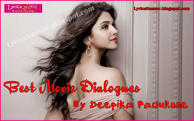 Deepika Padukone All Best Iconic Dialogues & Quotes | Whatsapp Status