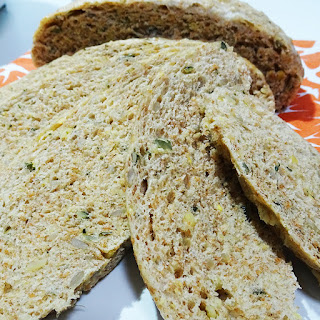 Pan de Espelta al Vapor con Semillas