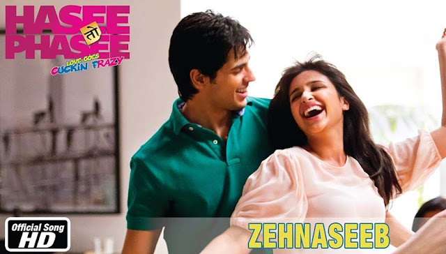 Zehnaseeb Guitar Tabs Leads, Hindi song from the movie Hasee Toh Phasee