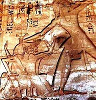 Ramses III defeats the Sea Peoples