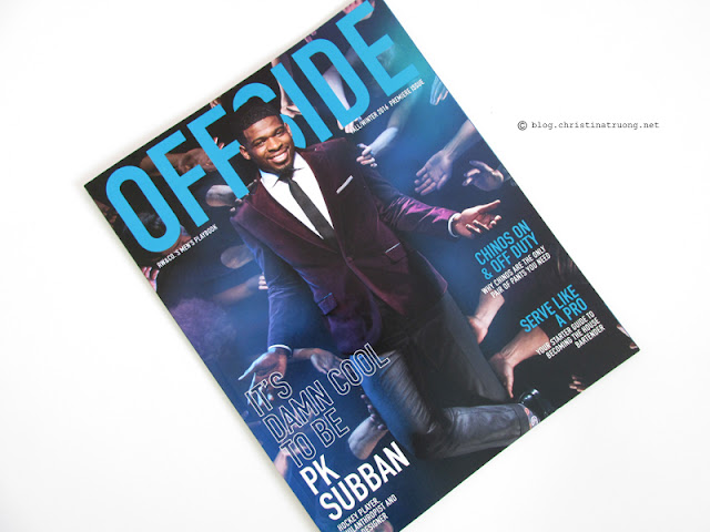 Fashion on Yonge 2016 Swag Bag Offside Magazine