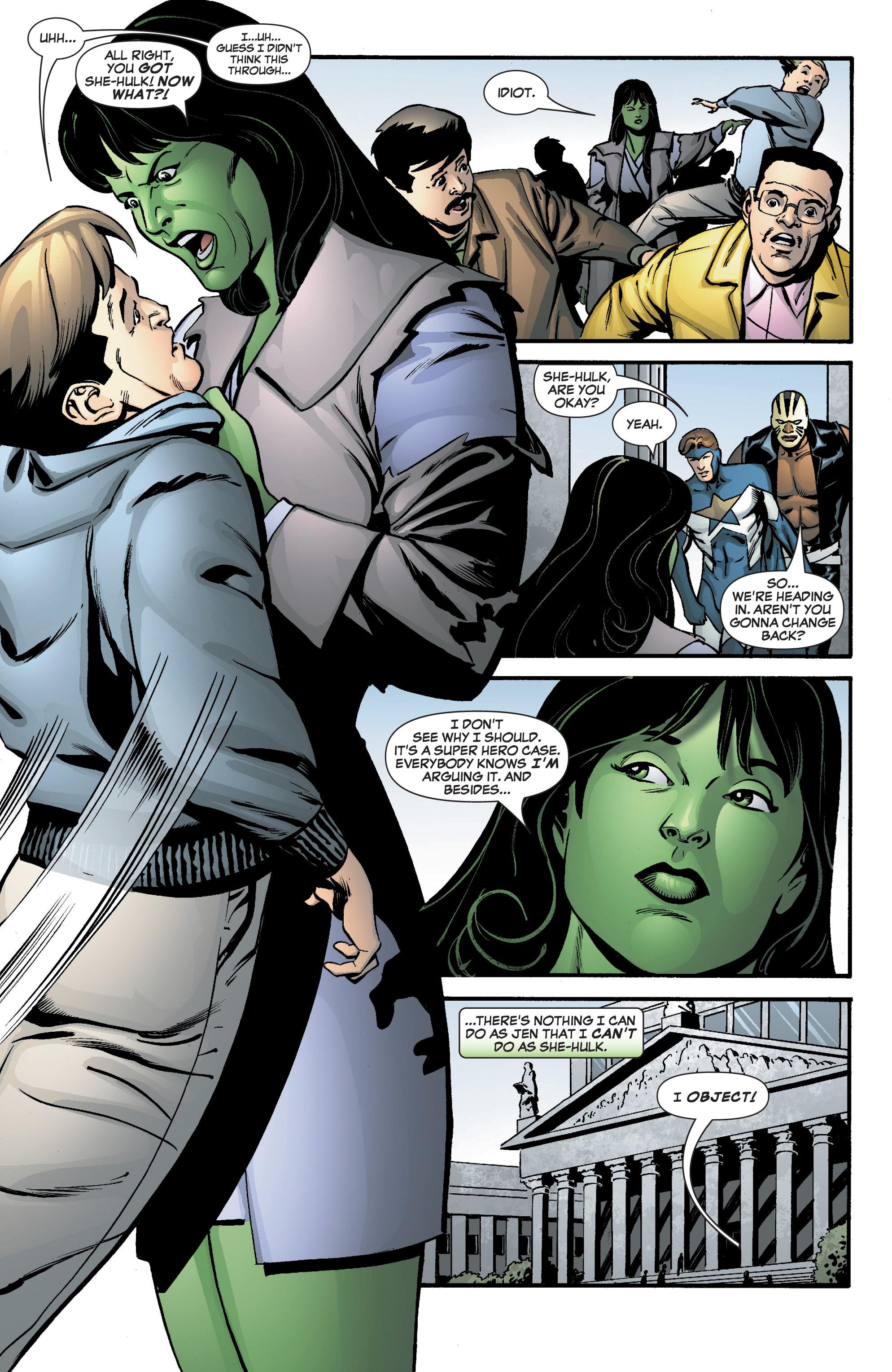Read online She-Hulk (2005) comic -  Issue #8 - 14