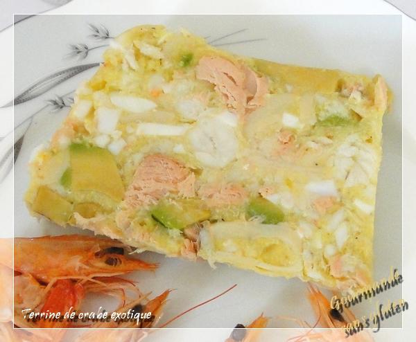 http://gourmandesansgluten.blogspot.fr/2011/04/terrine-de-crabe-exotique.html