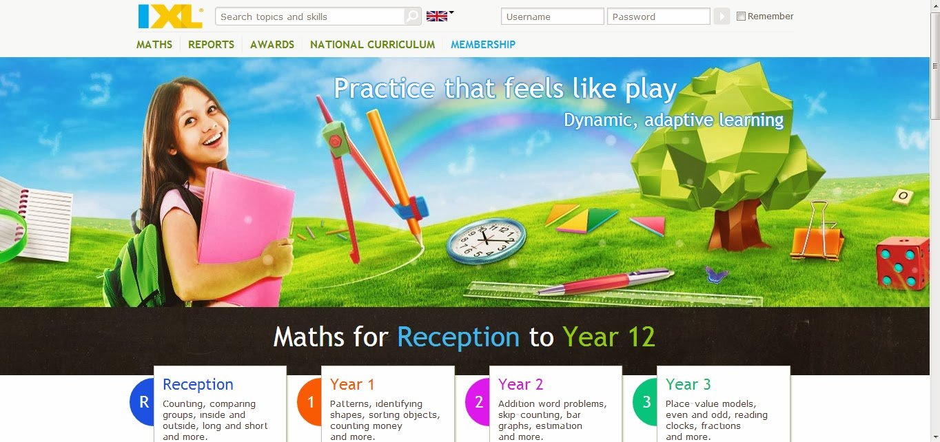 delivering grace: IXL-Practice that feels like play