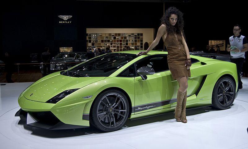 Bright Green And Brutal It Can Only Be The Italian Car Beast Lamborghini S A Rather One Meet Gallardo Lp570 4 Superleggera