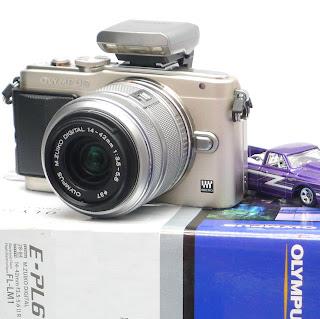 Kamera Mirrorless Olympus Pen E-PL6 Bekas Di Malang