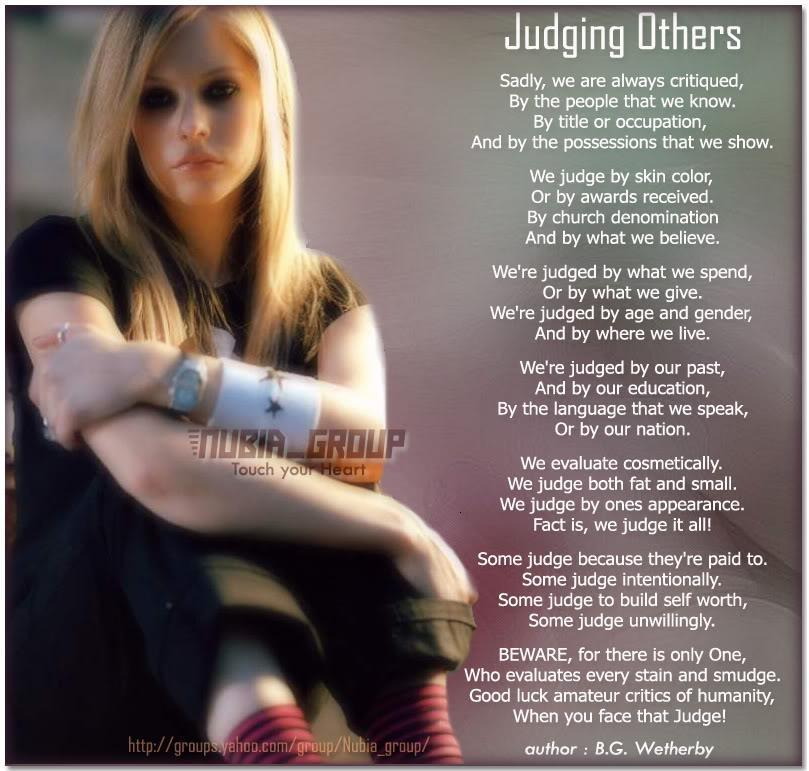 Quotes About Not Judging Peoples Appearance