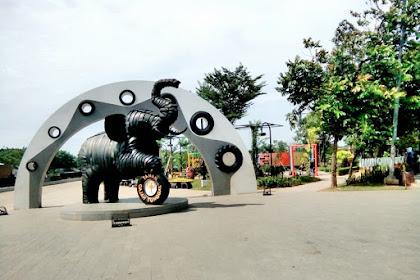 Taman Gajah Tunggal yang Instagramable di Tangerang