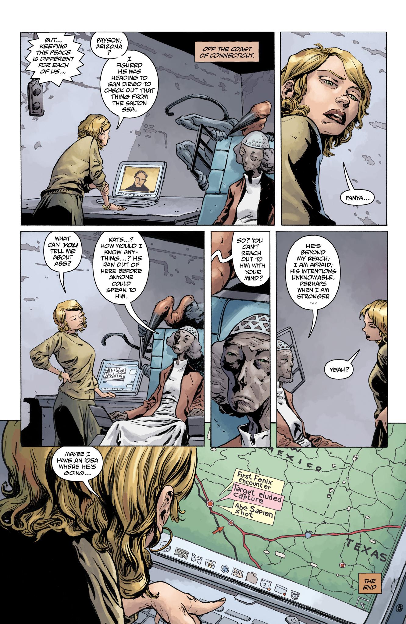 Read online Abe Sapien comic -  Issue #11 - 25