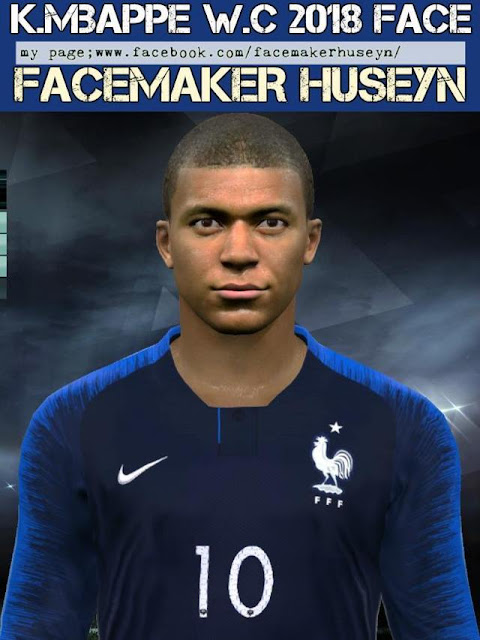Kylian Mbappe Face PES 2017