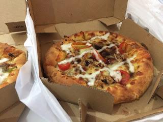 Cuba Kali Pertama Samyeang Pizza Dominos