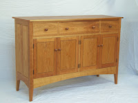 Custom Sideboard handmade by Doucette and Wolfe Furniture Makers