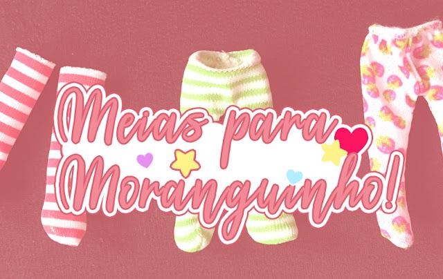 Aprenda a fazer meias para bonecas Moranguinho