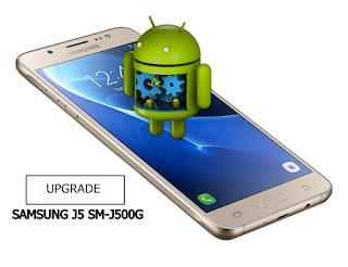cara upgrade versi android versi