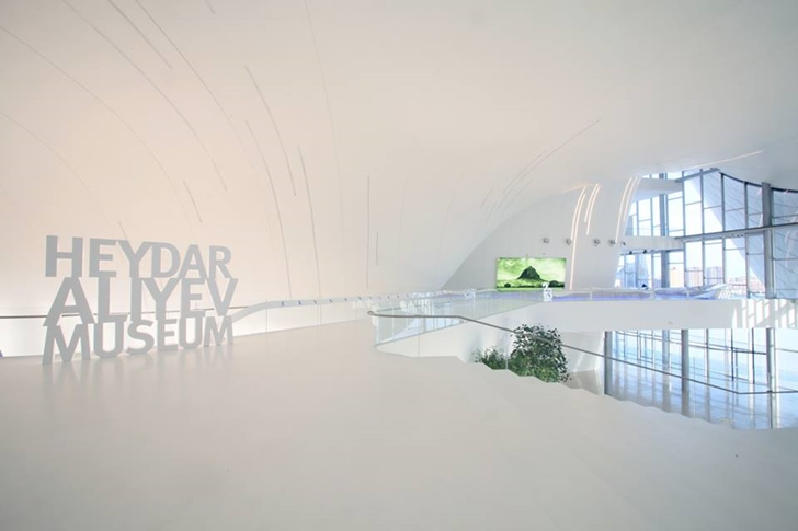 Museum in Heydar Aliyev Cultural Center by Zaha Hadid Architects