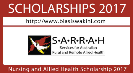 Nursing and Allied Health Scholarship 2017
