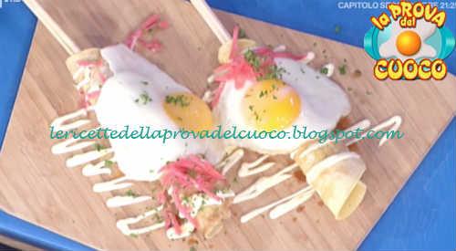 Prova del cuoco - Ingredienti e procedimento della ricetta Hashimaki di Hirohiko Shoda