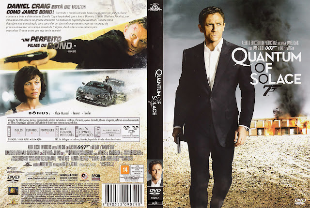 Capa DVD Quantum of Solace