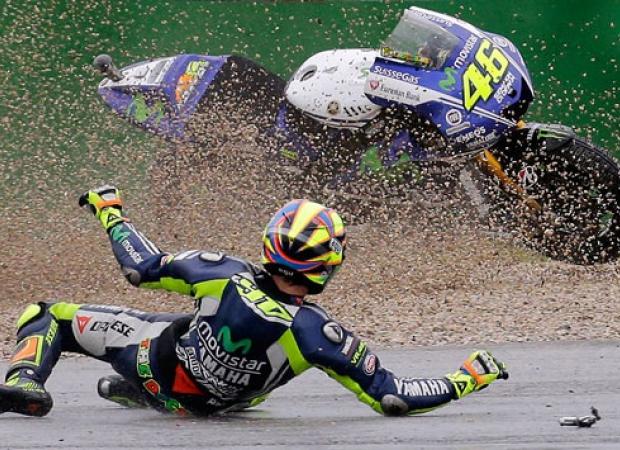 Komentar Rossi Tentang Ban Basah Michelin