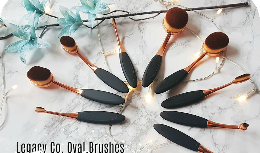 The Legacy Co. Oval Brush Set - First Impressions