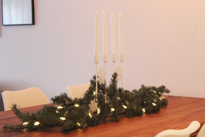 Navidad en ikea - centros de mesa navideños