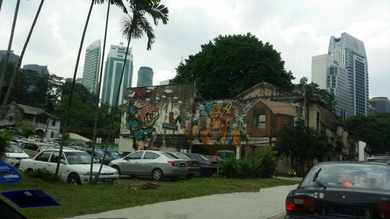 Cerita saya cerita awak cerita kita for Mural yang cantik