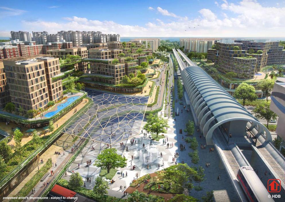 Pasir Ris MRT Mixed Development