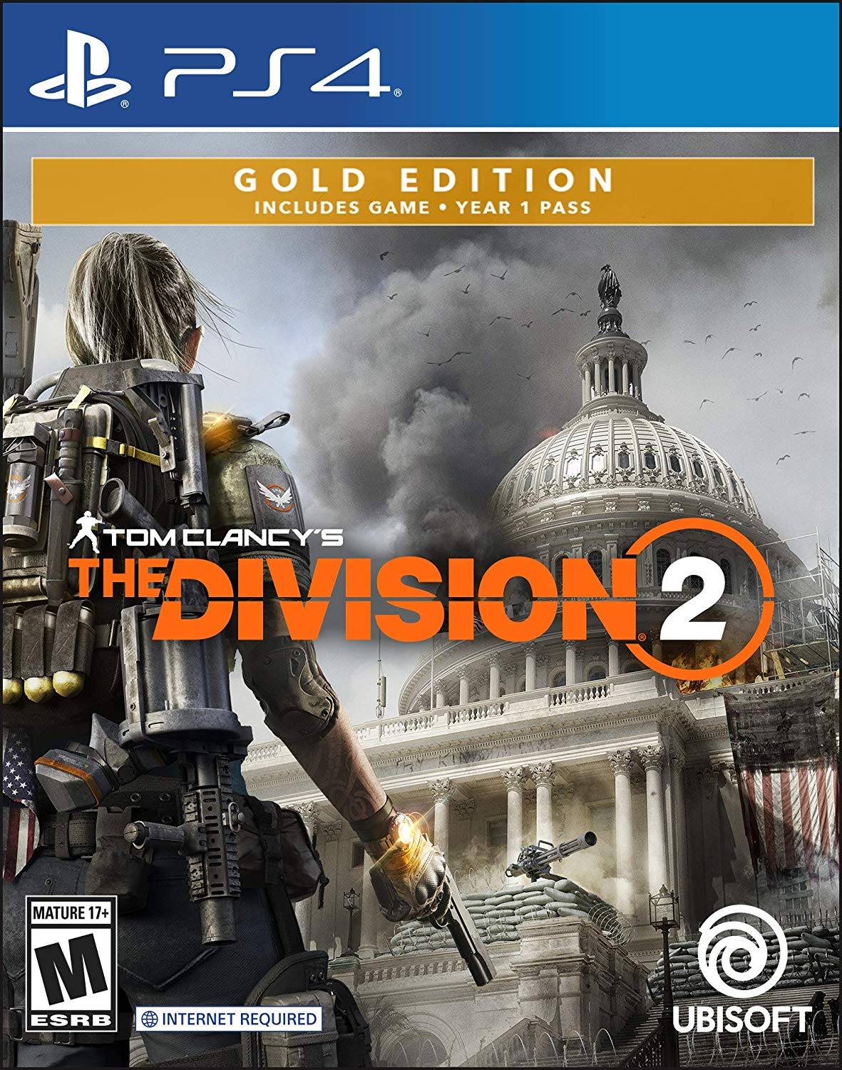 New Games: TOM CLANCY'S THE DIVISION 2 (PC, PS4, Xbox One