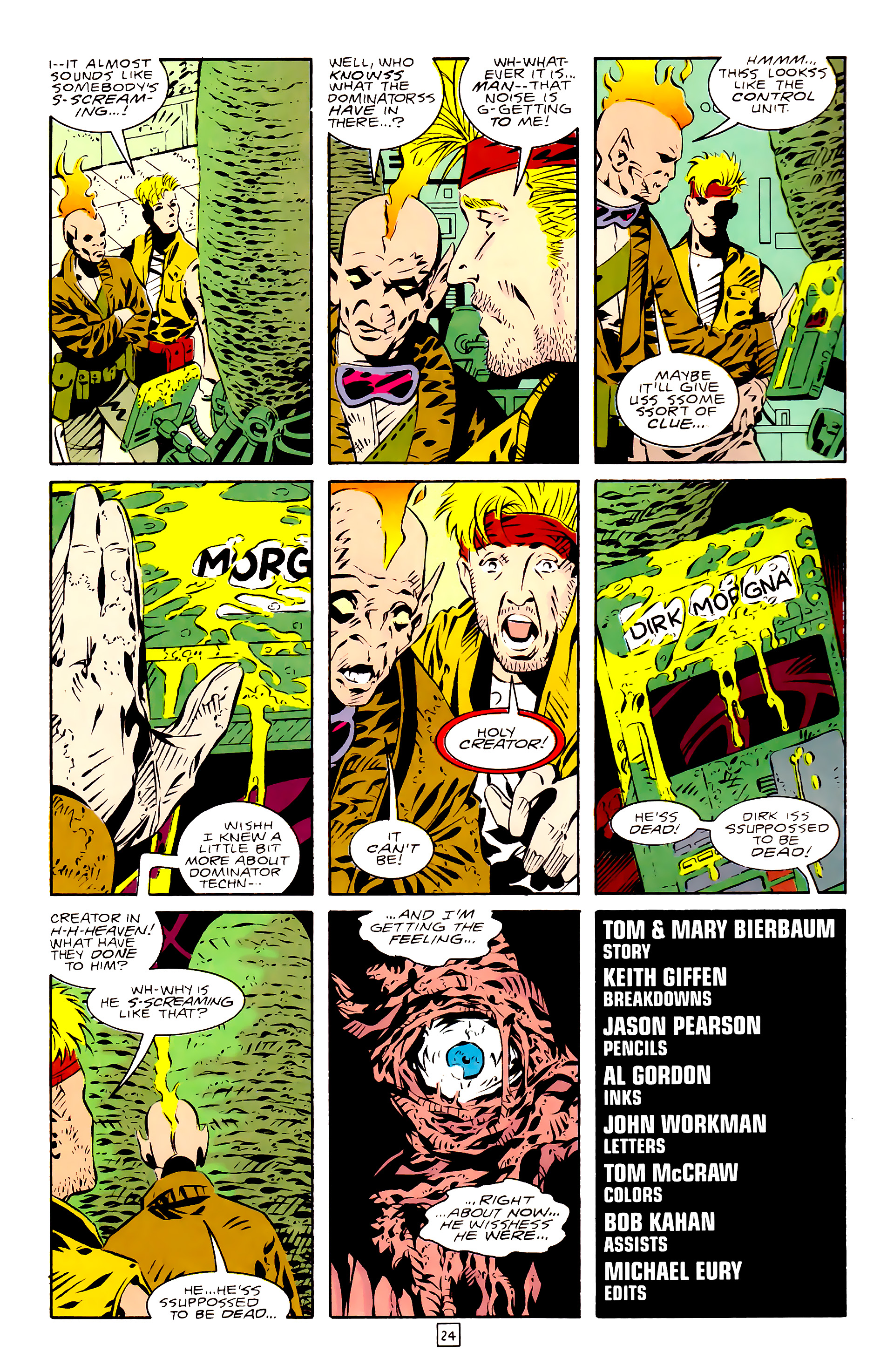Legion of Super-Heroes (1989) 28 Page 24