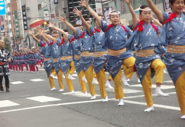 O-EDO Kakki Parade, Kyobashi, Tokyo