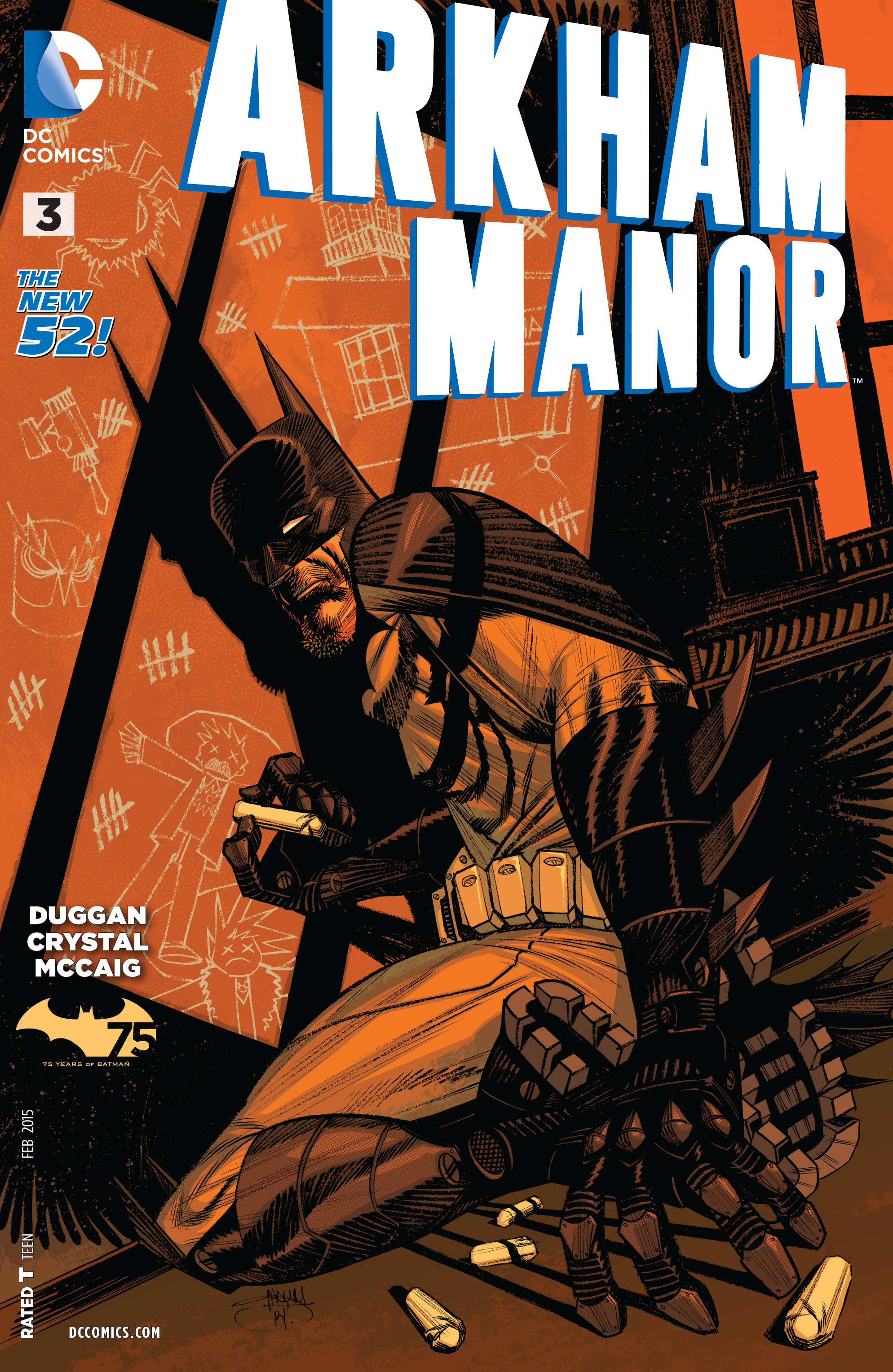 Read online Arkham Manor comic -  Issue #3 - 1