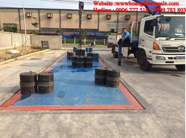 dịch vụ bảo trì cân xe tải