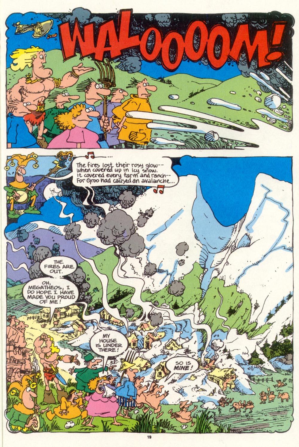 Read online Sergio Aragonés Groo the Wanderer comic -  Issue #97 - 20
