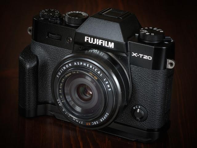 Meike XT20G Aluminum Alloy Hand Grip Quick Release Plate L Bracket for Fujifilm X-T20 X-T10.