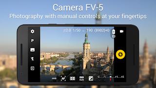 حول كاميرة هاتفك الى كاميرة محترفة Camera FV-5 اجمل تطبيق تصوير بنسختة المدفوعة