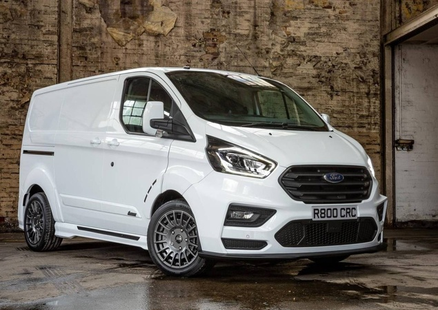 Ford Transit Custom MS-RT: van esportiva por R$ 166.500