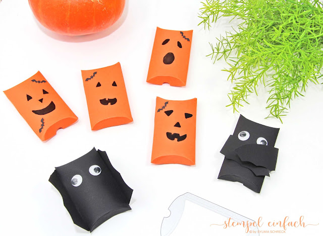 Stampin Up-Pillow Boxen-Halloween