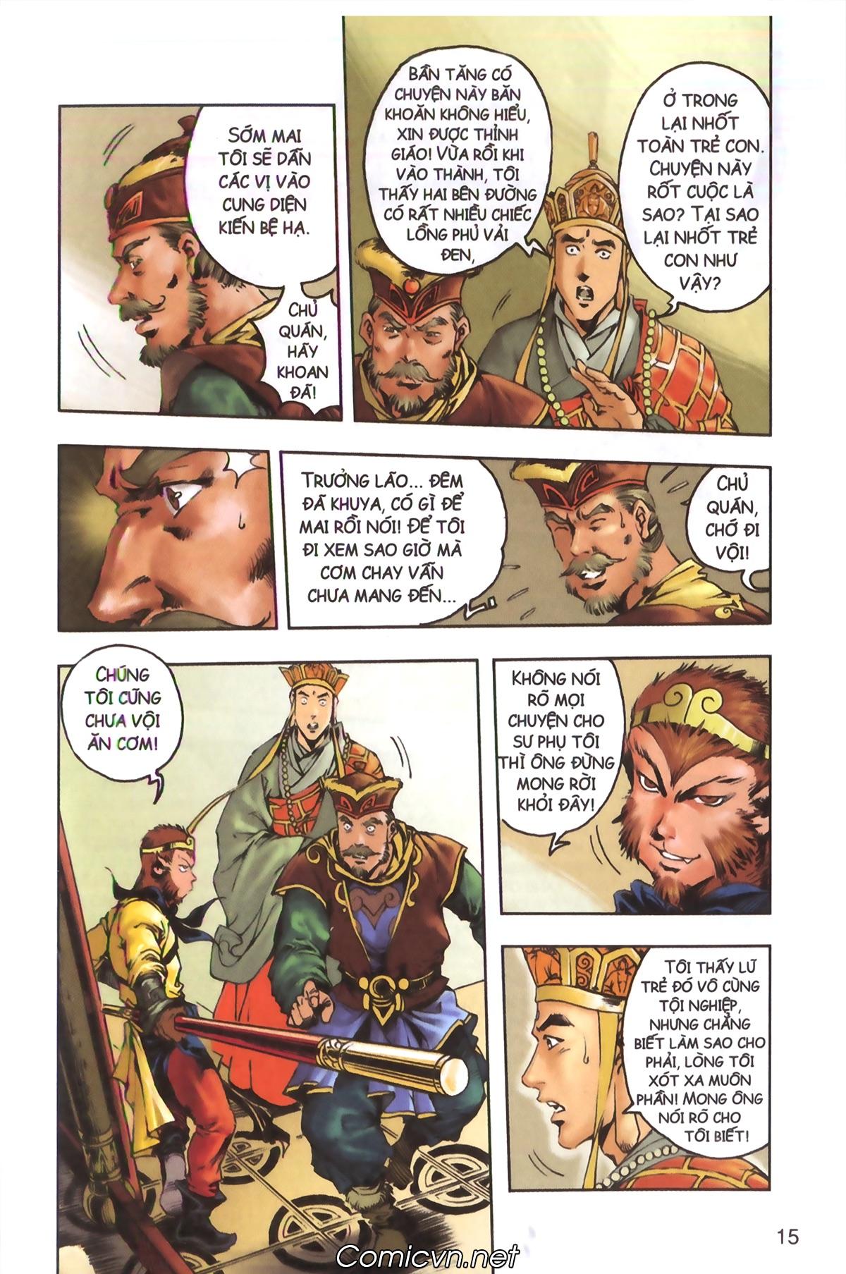 Tây Du Ký màu - Chapter 129 - Pic 13