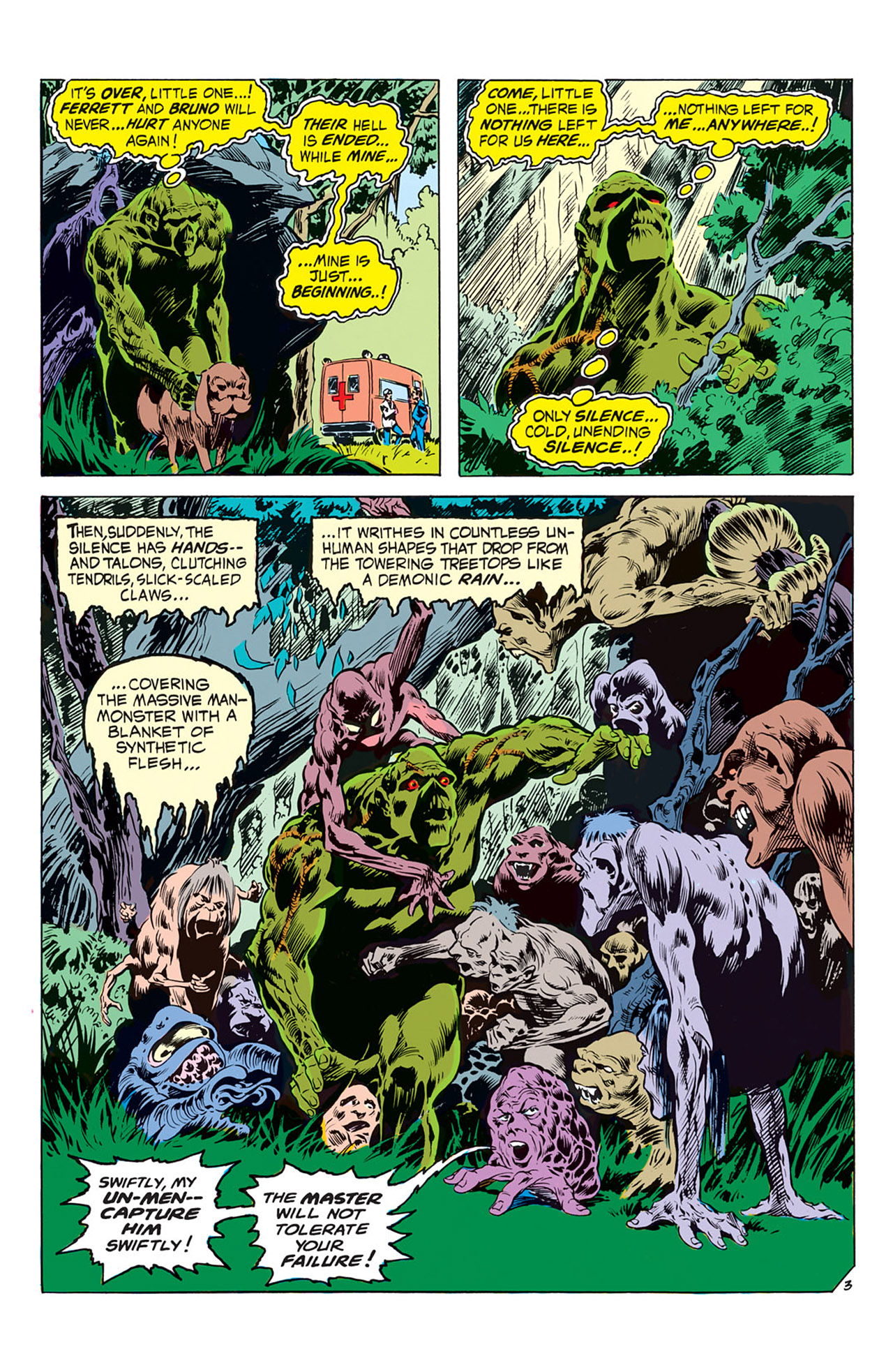 Swamp Thing (1972) Issue #2 #2 - English 4